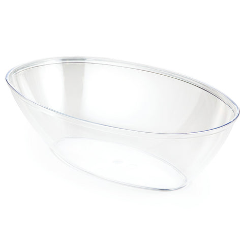 Clear Disposable Catering Oval Bowls Large