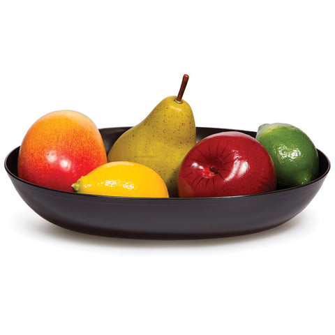 Black Disposable Catering Oval Bowls Small-Disposable Catering Supplies-Creative Converting-6-