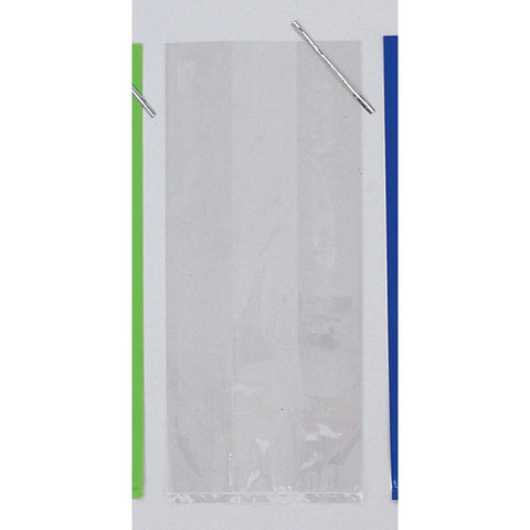 Clear Bulk Party Cello Treat Bags With Ties Large