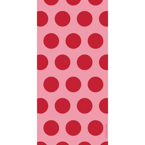Red Bulk Party Polka Dot Cello Treat Bags-Disposable Catering Supplies-Creative Converting-240-