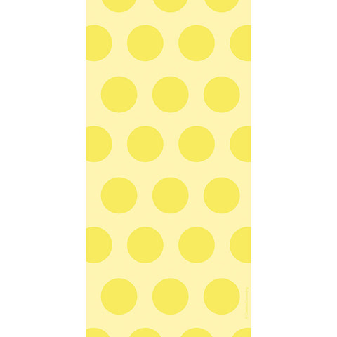 Yellow Bulk Party Polka Dot Cello Treat Bags-Disposable Catering Supplies-Creative Converting-240-
