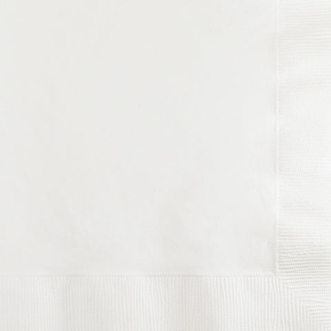 White Bulk Party 2 Ply Beverage Napkins (600/Case)