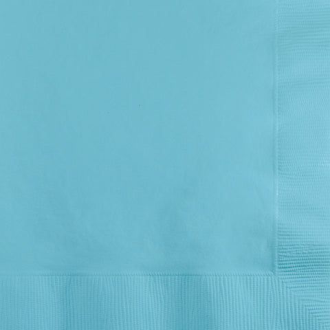 Baby Blue Bulk Party 2 Ply Beverage Napkins (600/Case)
