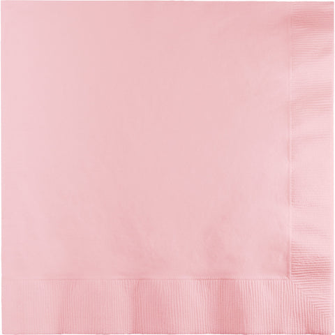 Pink Bulk Party 2 Ply Lunch Napkins (600/Case)-Solid Color Party Tableware-Creative Converting-600-