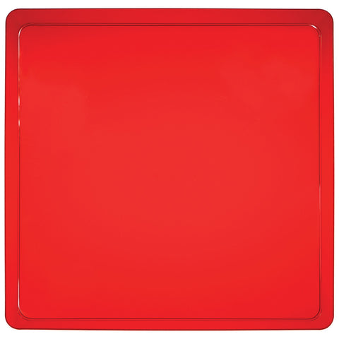 Red Disposable Catering Party Tray Platters 11.5""