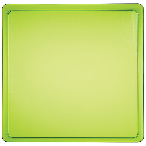 Green Disposable Catering Party Tray Platters 11.5""