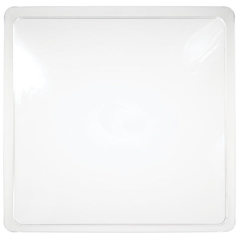 Clear Disposable Catering Party Tray Platters 11.5""