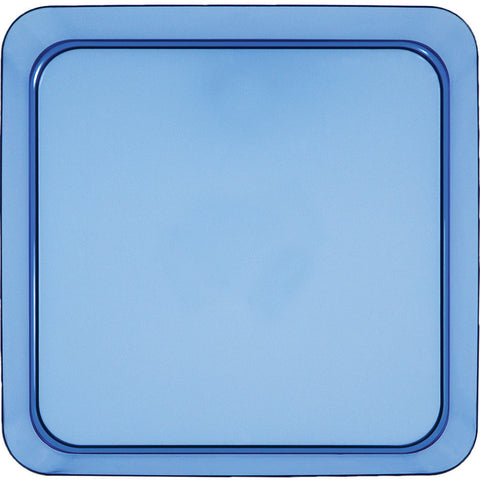 "Blue Mini Disposable Appetizer Plates Square 5""-Disposable Catering Supplies-Creative Converting-96-"