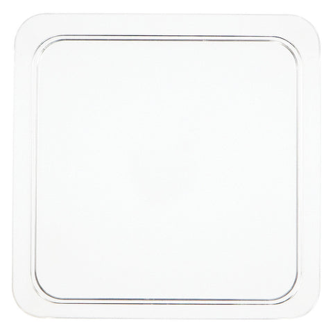 Clear Mini Disposable Appetizer Plates Square 5""