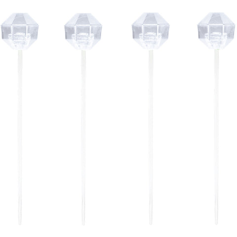 Clear Disposable Catering Diamond Appetizer Picks-Disposable Catering Supplies-Creative Converting-96-