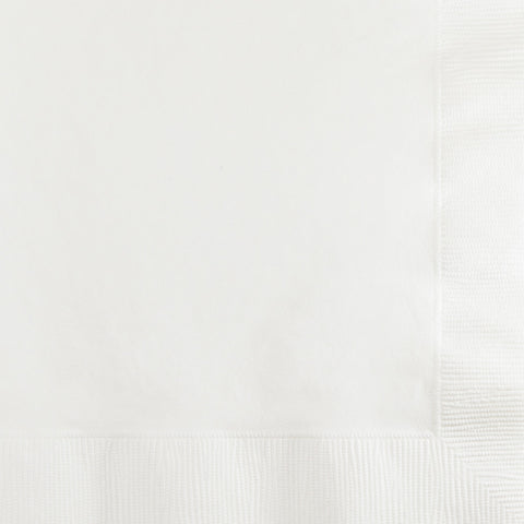 White Bulk Party 2 Ply Beverage Napkins (1200/Case)