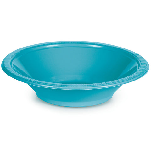 Bermuda Blue Bulk Party Plastic Bowls 12 oz. (240/Case)
