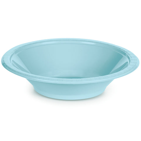 Baby Blue Bulk Party Plastic Bowls 12 oz. (240/Case)-Solid Color Party Tableware-Creative Converting-240-