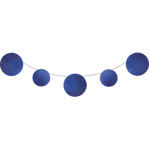 Blue Bulk Party Foil Embossed Banner 9 ft. Decorations-Bulk Party Decorations-Creative Converting-6-