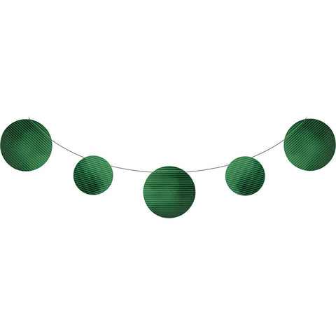 Green Bulk Party Foil Embossed Banner 9 ft. Decorations
