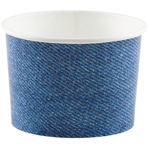 Denim Bulk Party Paper Treat Cups Case