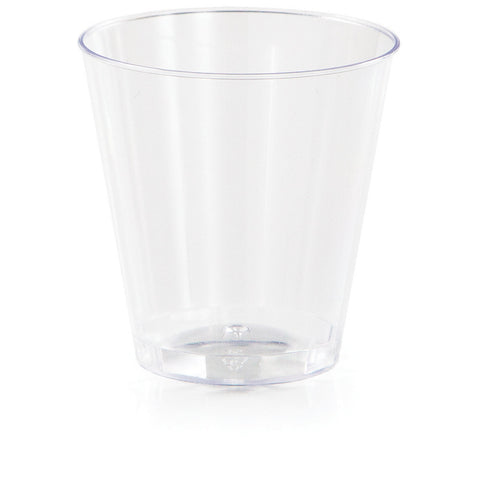 Clear Disposable Catering Shotglasses 2 oz