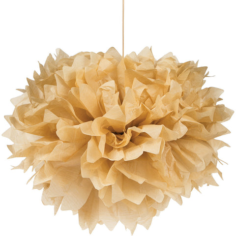 Kraft Bulk Party Paper Pom Poms Fluffy Tissue Balls-Bulk Party Decorations-Creative Converting-36-