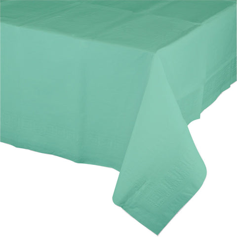 "Mint Green Bulk Party Paper Tablecovers 54""x 108"" (24/Case)-Solid Color Party Tableware-Creative Converting-24-"