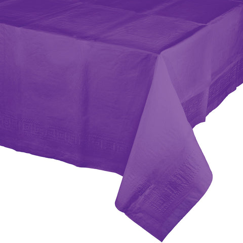 "Amethyst Purple Bulk Party Paper Tablecovers 54""x 108"" (24/Case)-Solid Color Party Tableware-Creative Converting-24-"
