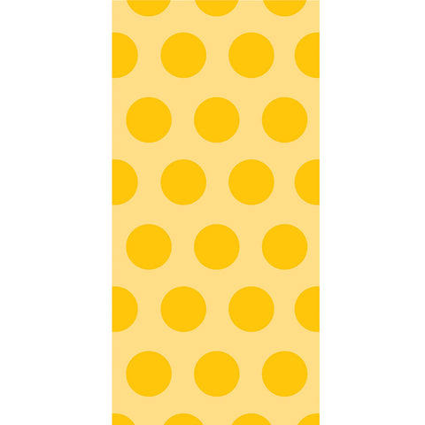 School Bus Yellow Bulk Party Polka Dot Cello Treat Bags-Disposable Catering Supplies-Creative Converting-240-