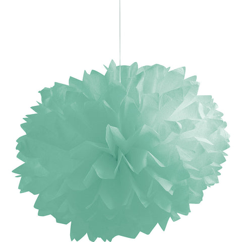 Mint Bulk Party Paper Pom Poms Fluffy Tissue Balls-Bulk Party Decorations-Creative Converting-36-