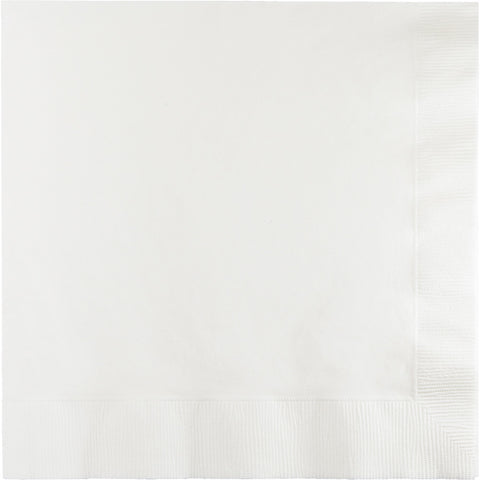 White Bulk Party 2 Ply Lunch Napkins (900/Case)
