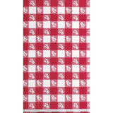 "Red Gingham Disposable Catering Rectangle Tablecovers Stay Put, 30"" x 96""-Disposable Catering Supplies-Creative Converting-12-"