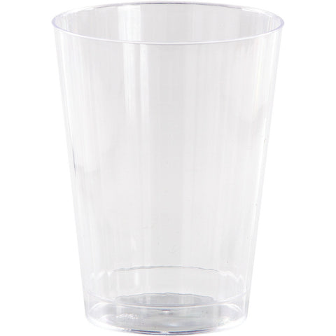 Clear Disposable Catering Old Fashioned Tumblers Case 12 oz