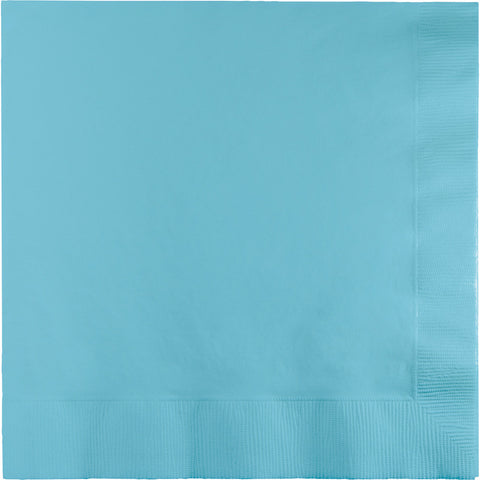 Baby Blue Bulk Party 3 Ply Lunch Napkins (500/Case)