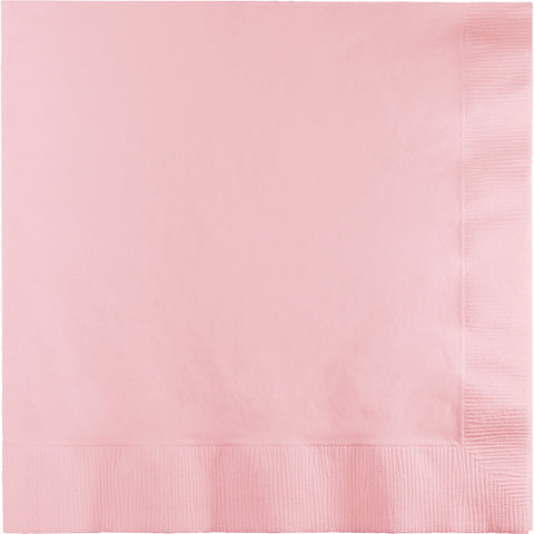Pink Bulk Party 3 Ply Lunch Napkins (500/Case)-Solid Color Party Tableware-Creative Converting-500-