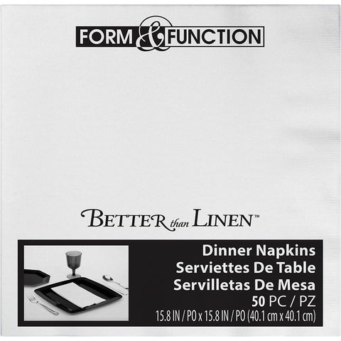 White Disposable Catering Dinner Buffet Napkins