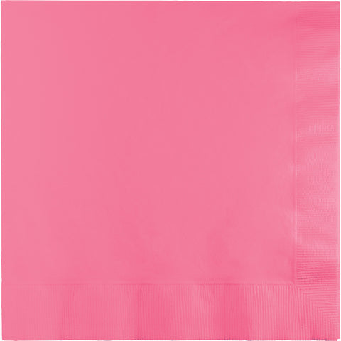 Candy Pink Bulk Party 2 Ply Lunch Napkins (600/Case)