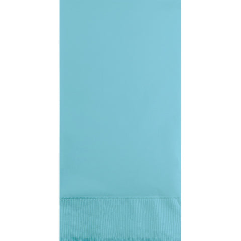 Baby Blue Bulk Party 3 Ply Guest Towel Napkins (192/Case)
