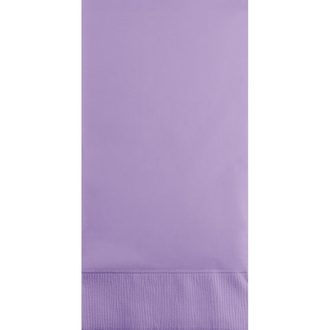 Lavender Bulk Party 3 Ply Guest Towel Napkins (192/Case)-Solid Color Party Tableware-Creative Converting-192-