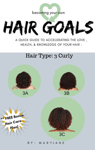 "Become Your Own "" HAIR GOALS"""