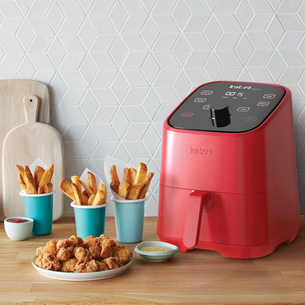 Instant™ Vortex™ Mini Air Fryer 2 Quart 4-in-1, Red