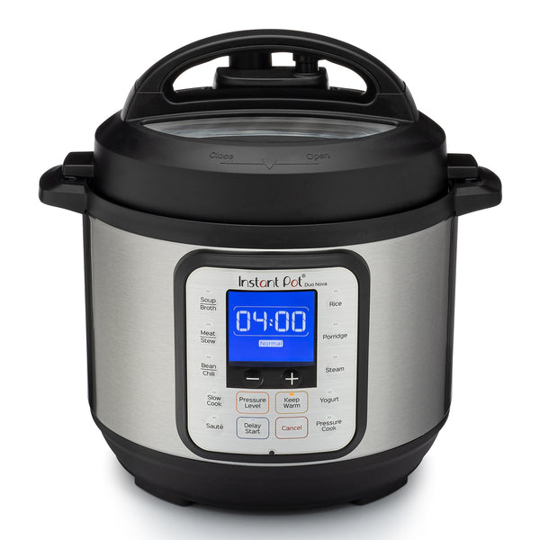 Instant Pot Duo Nova 3 Quart Pressure Cooker Multi-Cooker