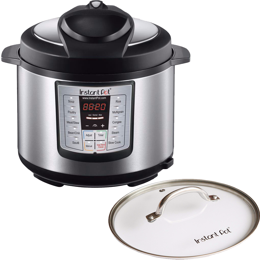 Lux 60 (6 Quart) + Glass lid for HipPressureCooking Readers