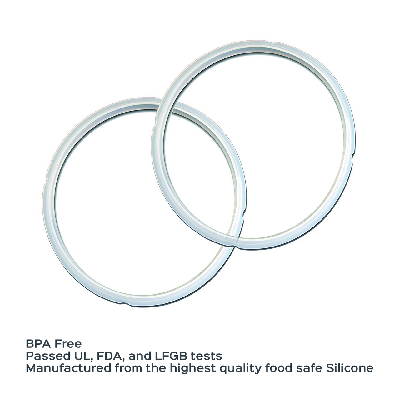 Instant Pot Accessories 2 pack 5 and 6 Quart Sealing Ring