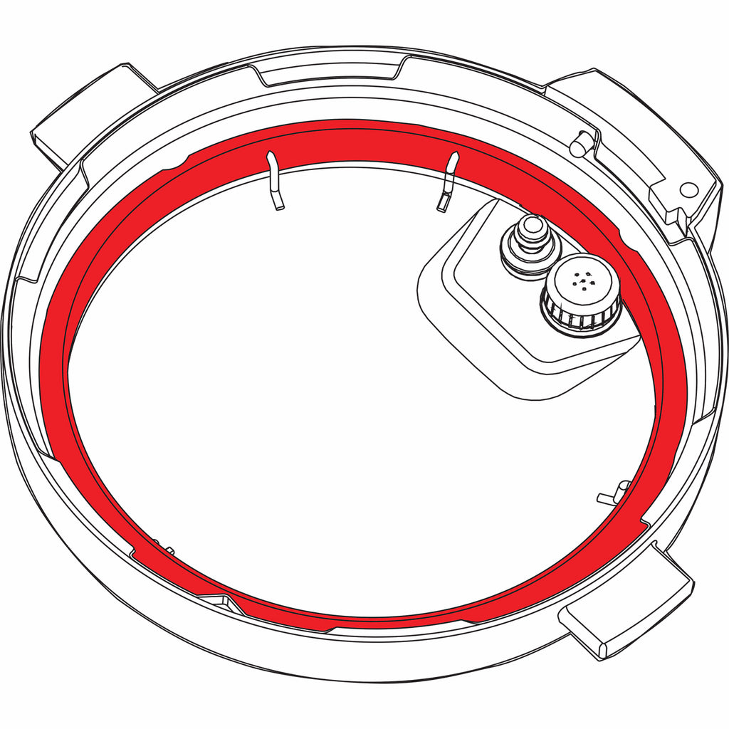 Sealing ring illustration