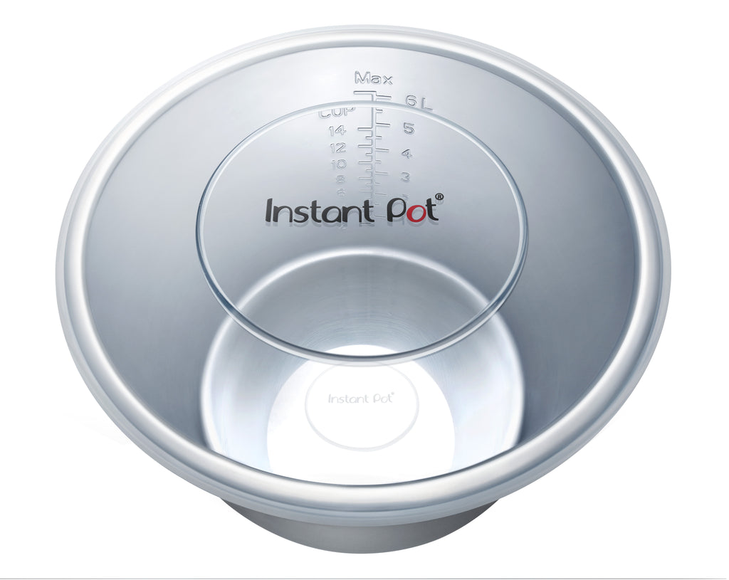 Instant Pot Accessories 8 Quart Silicone Lid on pot