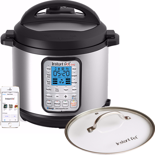 Smart 60 (6 Quart) + Glass lid for HipPressureCooking Readers