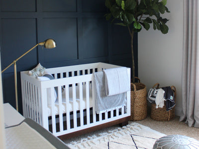 Style Me Pretty: Modern and Sophisticated Nursery by Ashley Cooper Design image
