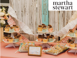 Martha Stewart: A Sweet Mint and Blush Baby Shower for Baby Hadley image