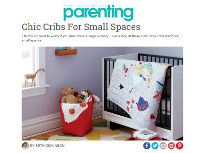 Parenting: Chic Cribs For Small Spaces image