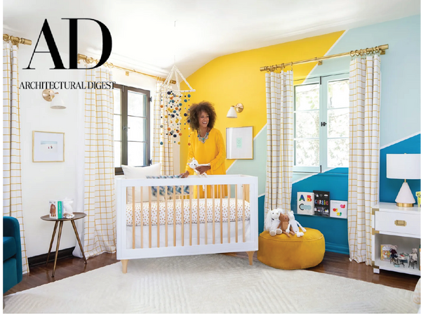 ARCHITECTURAL DIGEST: Jesse Tyler Ferguson Takes AD Inside His Son Beckett's Bold, Bright Nursery image