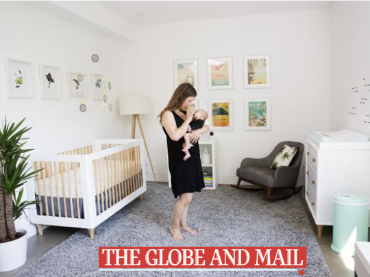 The Globe And Mail: Favourite room, A nursery inspired by Hawaii image