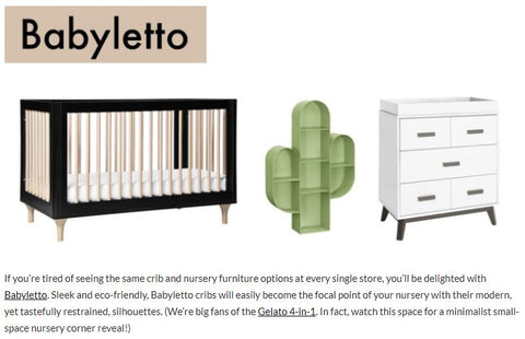 Babiekins 50 Baby Brands You Need To Follow For A Trendy Baby Registr Babyletto
