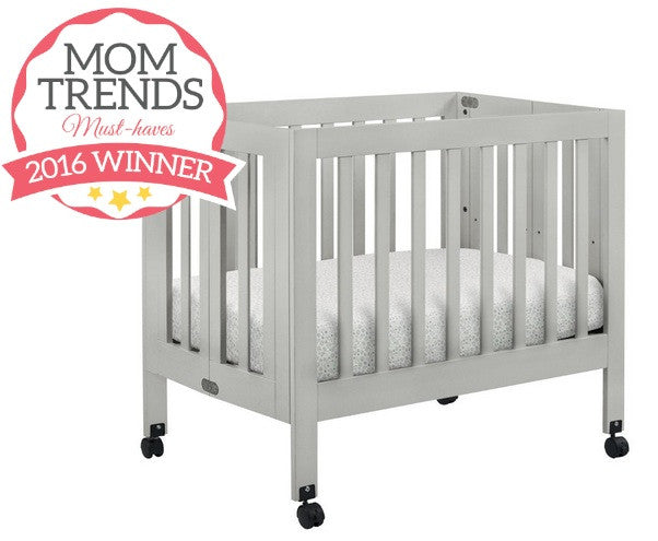 Mom Trends 1-27-16 Must-Haves 2016 Winner babyletto Origami Mini Crib